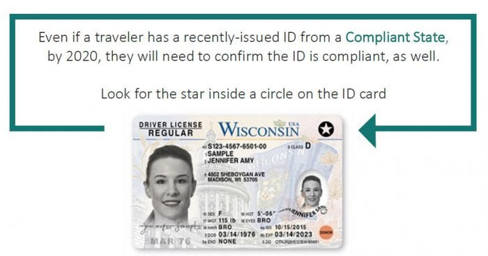 REAL ID Act Compliant License